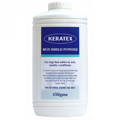 Polvo desinfectante Keratex Mud Shield