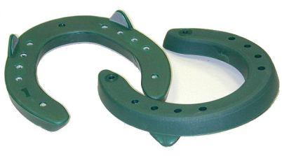 herradura de aluminio recubierta de poliuretano