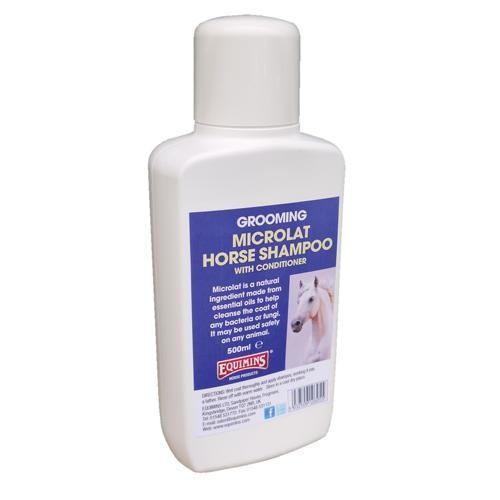 Champú acondicionador contra hongos y bacterias Equimind Microlat