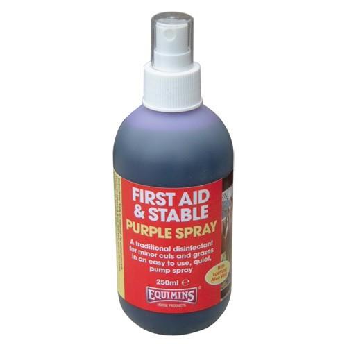 Spray para heridas Equimins Purple Spray