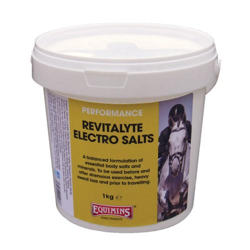 Suplemento con electrolitos y probióticos Equimins Revitalyte Electro Salts