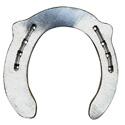 Herradura de aluminio para competición y ortopedia Colleoni Esparaván (PSPAD)