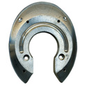 Herradura de aluminio para competición y ortopedia Colleoni Tris Full Rolling Insert (TM)