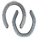 Herradura de aluminio - hipódromo Mustad Trote Ultra Ligera