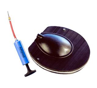 Tapa Airshod con soporte ranilla inflable + bomba