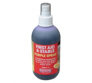 Spray para heridas Equimins Purple Spray