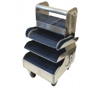 Carro de herramientas de aluminio Jim Blurton